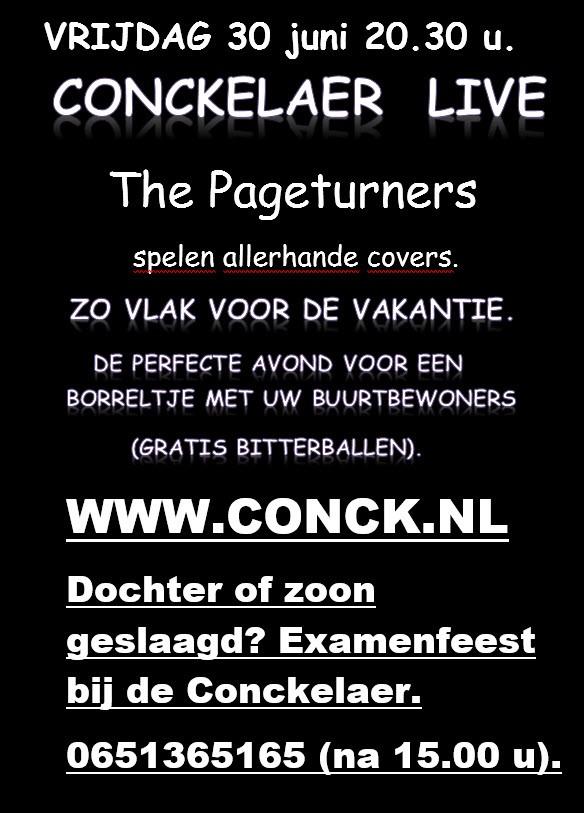CONCKELAER LIVE!