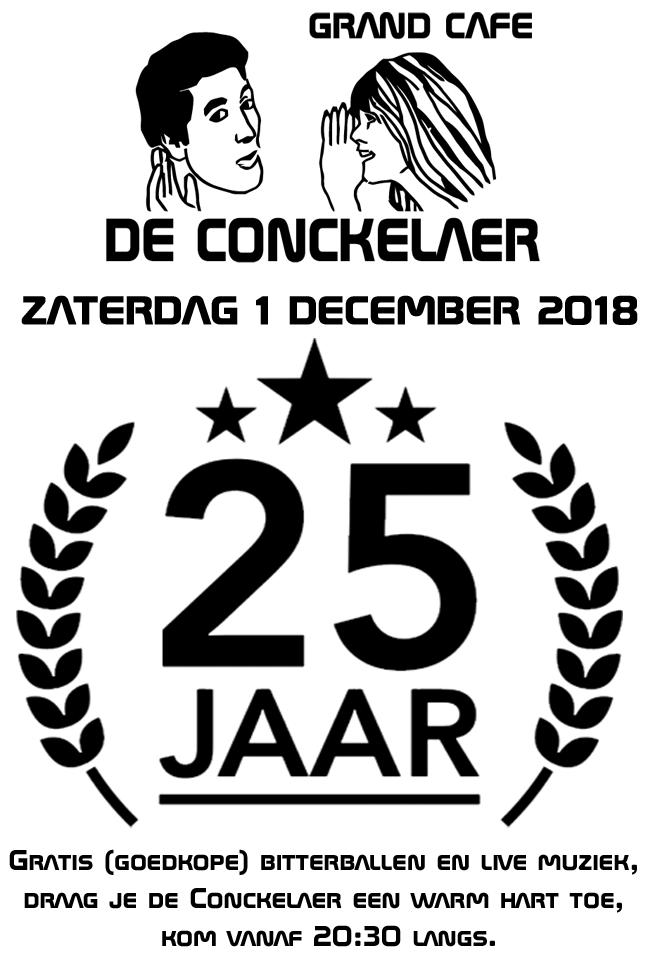 Conckelaer 25 jaar