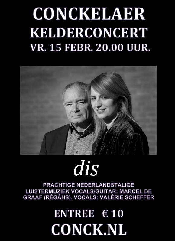Dis 15 februari 2019 live met hun nieuwe programma Zandloper.